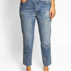 THE RIGID FELLOW JEANS PRAIRIE WASH EMBROIDERED